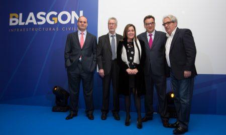 Equipo directivo de BLASGON con LEO HARLEM